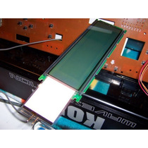 Backlight Visor Korg 01w I3 T2 T3 A/d Ex M1. Pronta Entrega