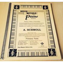 Método Livro/caderno P/ Piano A.schmoll Vol.1
