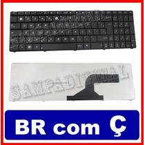 Teclado Notebook Asus N53 K52 N60 N61 N71 9z.n6vsq.21b Com Ç