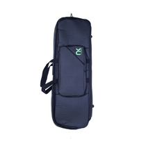 Gig Bag Para Teclado Compacto 6/8 Couro Reconstituído Preto