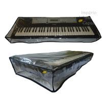Capa Para Teclado Musical 5/8 Em Pvc - Yamaha, Korg, Roland