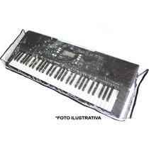 Cobertura Para Teclado Pvc Cristal 5/8 - Yamaha Casio Roland