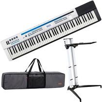 Teclado Piano Digital Casio Px5s Privia + Bag + Suporte Stay