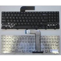 Teclado Dell Inspiron 15r N5110 06kejr Americano Preto Novo