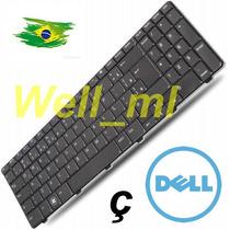 Teclado Dell Inspiron 15r N5010 M5010 Preto Br Com Ç
