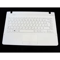 Teclado Branco Notebook Samsung Np270 E4e Series Ba75-04583p