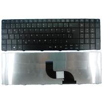 Teclado Para Notebook Da Acer Aspire E1-571 Padrão Br Com Ç