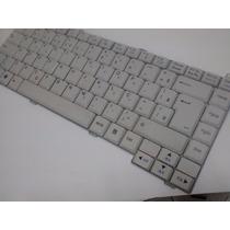Teclado Notebook Lg R410 R480 R48 Branco Br (com Ç)