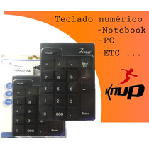 Teclado Numérico Knup Kp-2003 Para Notebook