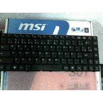 Teclado Notebook Msi Cr420 U270 Qbex 1454 V111822ak1 Br