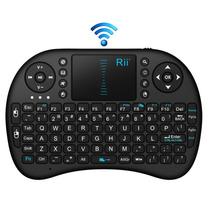Mini Teclado Sem Fio Com Touchpad 2,4ghz