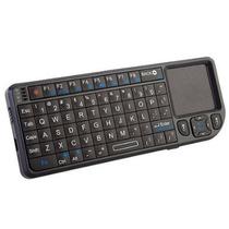 Rii Mini Teclado Sem Fio Com Touchpad E Laser Vermelho