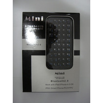 Mini Teclado Bluetooth 2.0 Sem Fio Ipad Iphone Android Ps3
