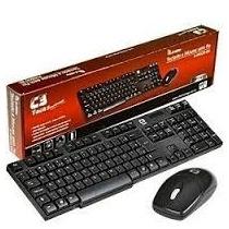 Teclado Mouse Sem Fio C3 Tech