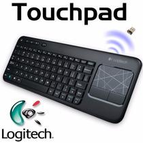 Teclado Touch Sem Fio K400 Logitech Wireless K400r Smart Tv