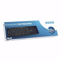 Kit 10 Teclado Computador / Notebook Usb Preto Frete Grátis