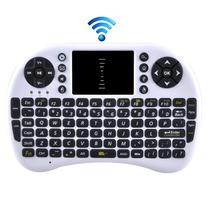 Mini Teclado Wireless Com Touchpad 2,4ghz - Frete Grátis