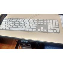 Teclado Numérico Branco E Alumínio Apple