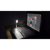 Luminária Led Lampada Usb Flexível Notebook Pc Mac W7 Abajur