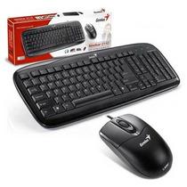 Kit Teclado E Mouse Genius Slimstar C110 Preto Usb