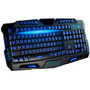 Teclado Gamer Luminoso Led Neon Dpi Usb Tecla (ç) Abnt2