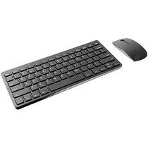 Teclado E Mouse Sem Fio 2.4ghz Mini Slim Usb Multilaser