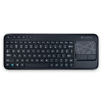 Teclado Sem Fio Logitech K400r Com Touchpad