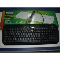Teclado Multimídia Usb - Mtek Kp807
