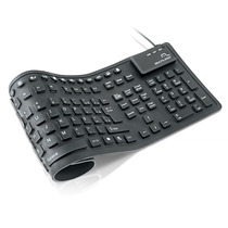 Teclado Flexivel Preto Usb Cód: Tc092 Multilaser