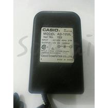 Fonte Adaptador Para Teclado Casio 12v 1500ma Model Ad-12ul