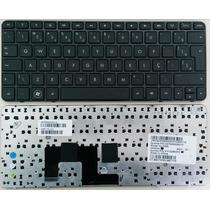 Teclado Hp Mini 210-1000 Séries V113246ak1 Br Com Moldura