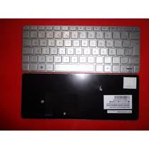 Teclado Hp Mini 210-2000 210-3000 Prata Br+frame 622344-201
