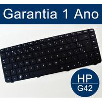 Teclado Hp G42 Cq42 602034-201, 590121-201, 590121-001 Br Ç