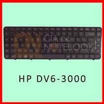 Teclado Notebook Hp Dv6-3000 Dv6-3100 3200 3300 Séries