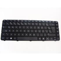 Teclado Notebook Hp 697529-201 V121026ar2 Br 1000