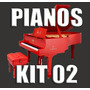 Kit 02 - Samples De Pianos P/ Korg Pa600 Pa900