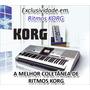 Lançamentos 2014!!! 400 Novos Ritmos P\ Teclados Korg