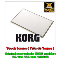 Touch Screen ( Tela De Toque ) P/ Teclado Display Korg Pa600
