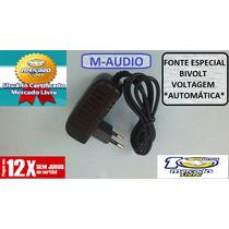 Fonte Teclado M Audio Keystation / Prokeys Etc.. Nova