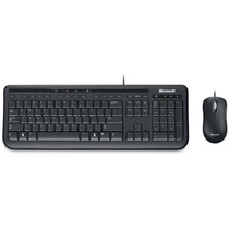 Kit Teclado E Mouse Microsoft Wired Desktop 600 Usb