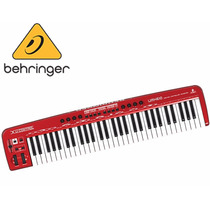 Teclado Controlador Midi Usb 61 Teclas Umx610 - Behringer