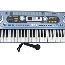 Teclado Piano Musical Infantil Sons Etronicos Usb Mq18uf