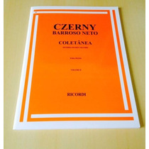 Método/livro Estudo P/ Piano Czerny Barroso Neto Vol. 2!!!