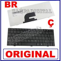 Teclado Netbook Positivo Mobo Black 3000 4000 1000 Br Com Ç