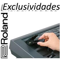 Mega Kit Com 12.000 Ritmos Para Teclados Roland (cod - 056)