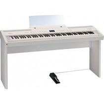 Piano Roland Fp80 Branco Na Loja Cheiro De Musica !!