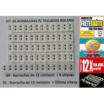 Borracha Para Teclado Roland E56 Kit Completo Frete Gratis