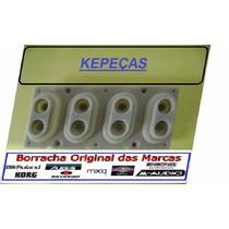 Borracha Nova (04 Contact) Teclado Roland (para 4 Teclas)