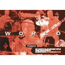 Placa Expansão World Roland Jv80-05 P/ Roland Xp Jv Xv Fa76