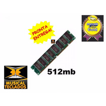 Memoria 512 Mb P/ Teclado Roland Fantom, Juno G Frete Grátis
